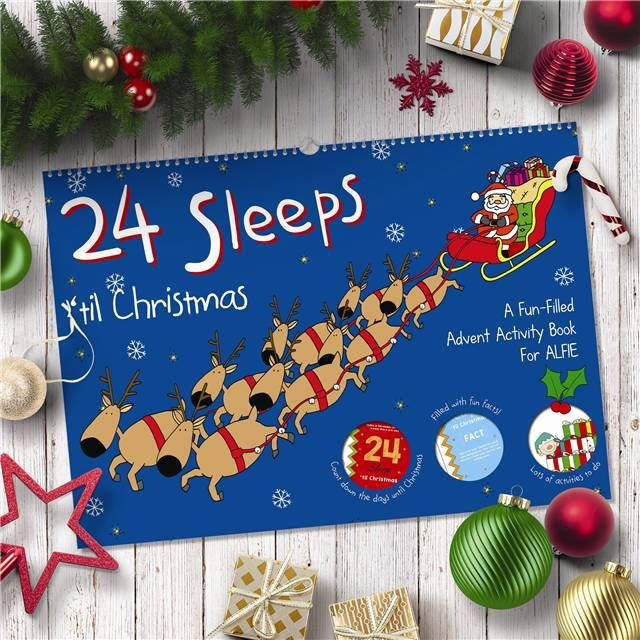 24 Sleeps 'til Christmas Activity Book