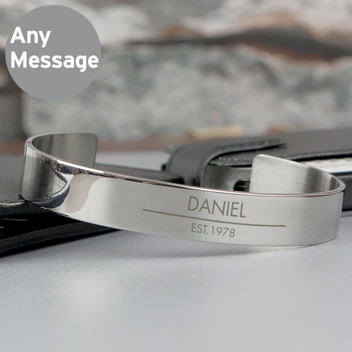 Classic Stainless Steel Bangle