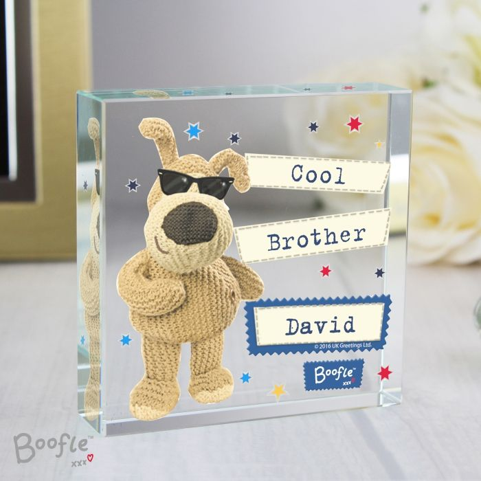 Personalised boofle stars large crystal token m4hsunfo